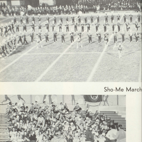 1972-73 Marching Band