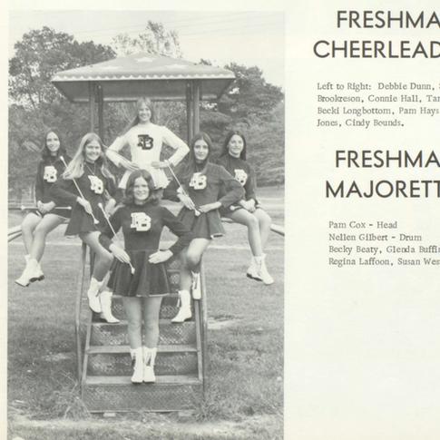 1971-72 Freshman Majorettes