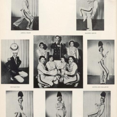1953 Majorettes