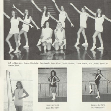 1972-73 Majorettes