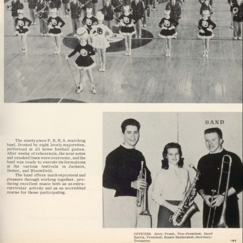 1959 Marching Band