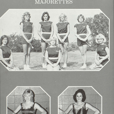 1984-85 Majorettes