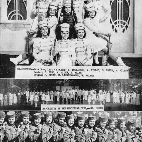 1946 Majorettes