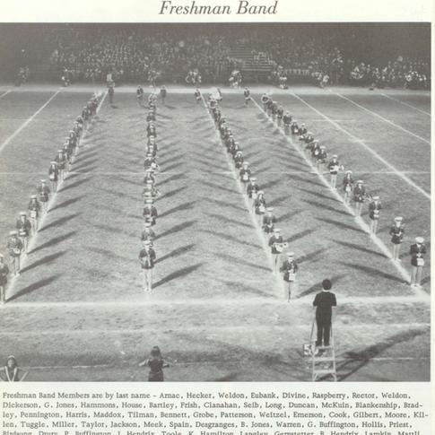 1973-74 Freshman Band