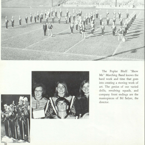 1967-68 Marching Band