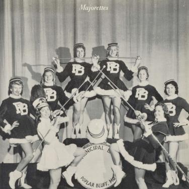 1957 Majorettes