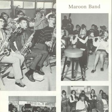 1970-71 Maroon Band