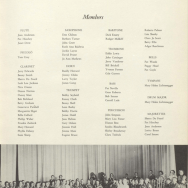 1951 Municipal Band