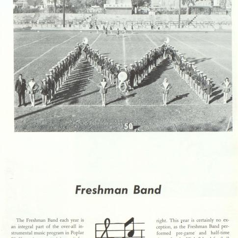 1967-68 Freshmen Band