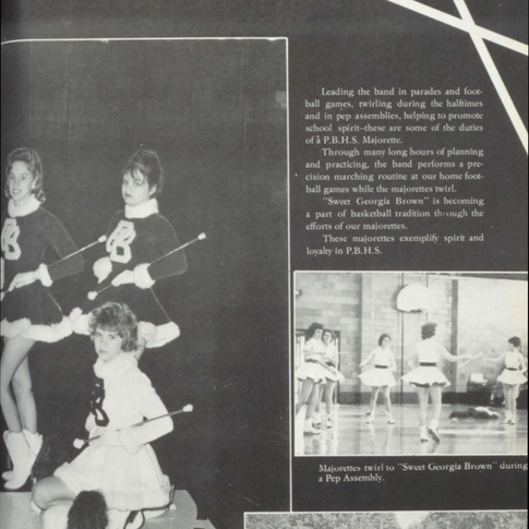 1961-62 Majorettes Pg 2