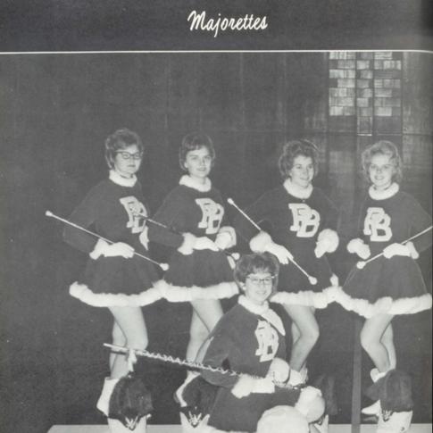 1961-62 Majorettes
