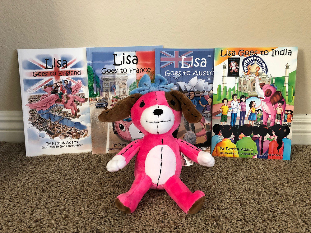 Amazing Lisa Plush Toy with Book Series