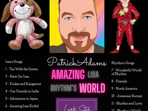 My Books Have a Soundtrack!  AMAZING WORLD Album Released