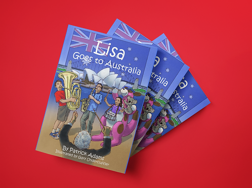 Lisa Goes to Australia - Paperback