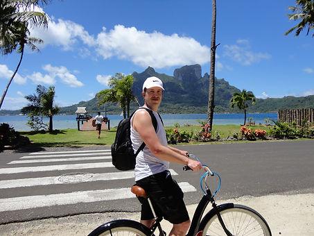 Patrick Adams in Bora Bora, French Polynesia