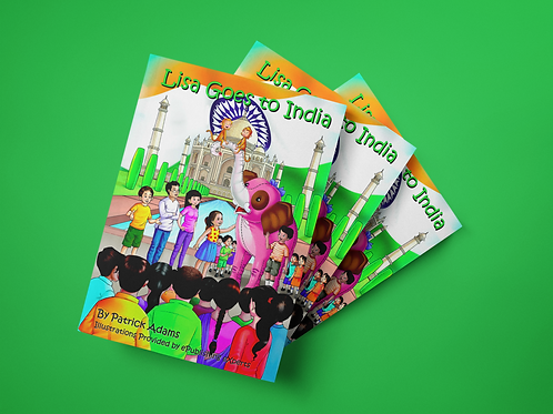 Lisa Goes to India - Paperback