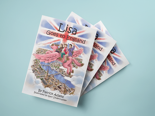 Lisa Goes to England - Paperback