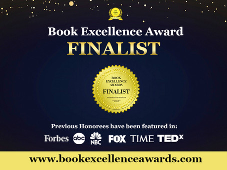 I received a Book Excellence Award for Lisa Goes to India!