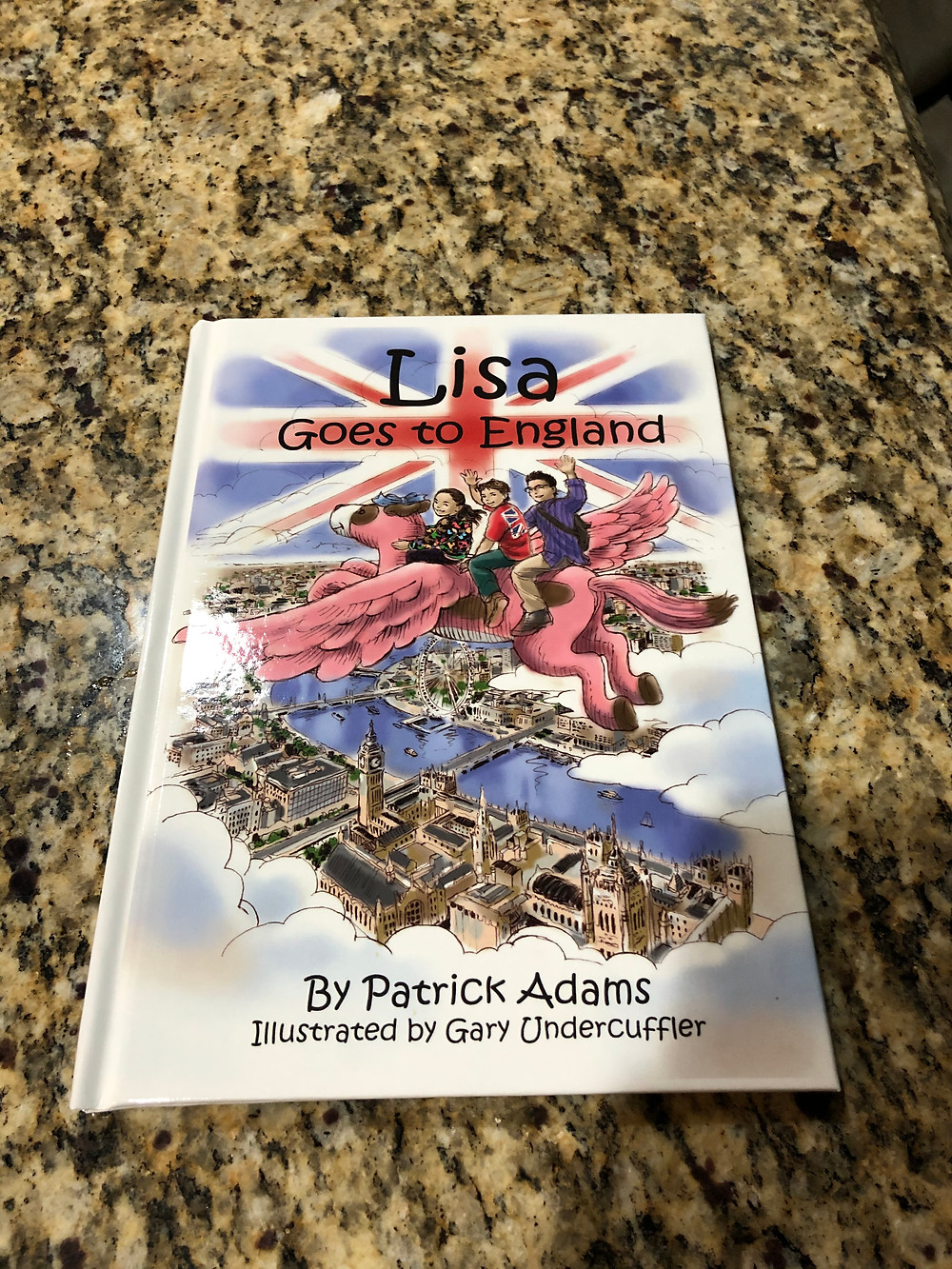 Lisa Goes to England - Hardcover