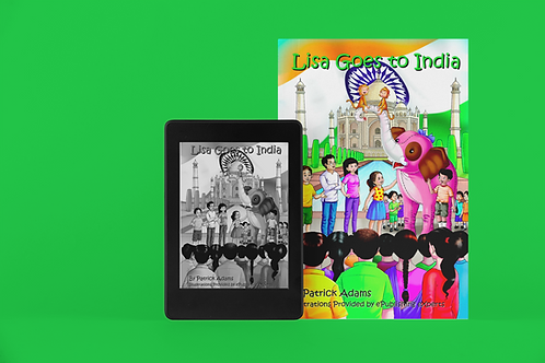 Lisa Goes to India - eBook