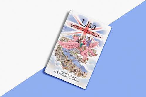 Lisa Goes to England - Hardcover