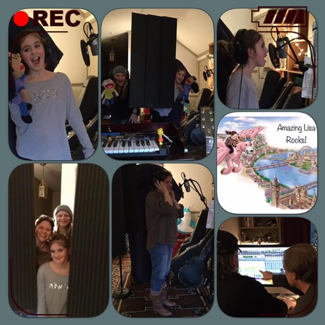 The Making of Amazing Lisa Rocks 2