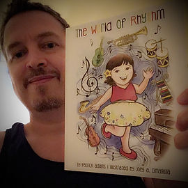 Patrick Adams with The World of Rhythm Book