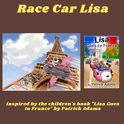 Race Car Lisa - WAV File