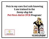 Pet First Aid & CPCR Trained