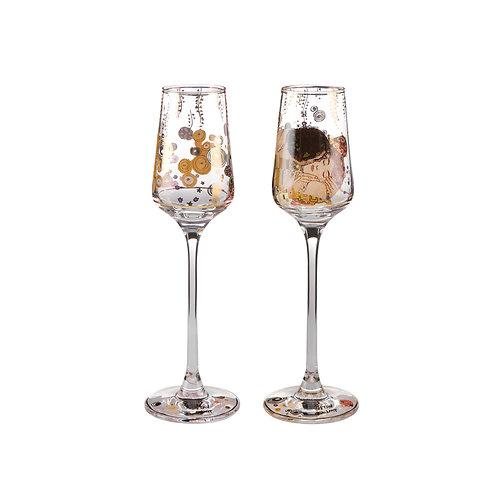 Kieliszki do wódki Geobel Gustav Klimt
