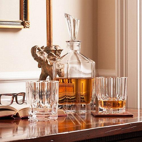 Elegancki zestaw do whiskey