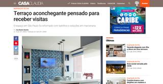 Site Casa Claudia