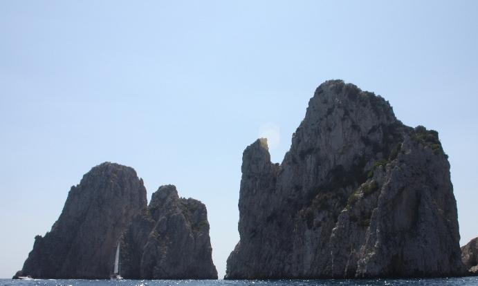Faraglioni's rocks