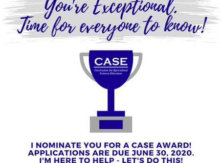 CASE Award Applications
