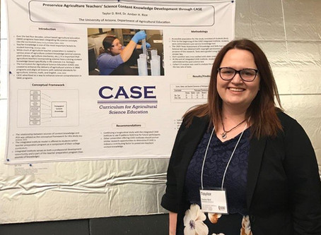Preservice Agriculture Teachers' Science Content Knowledge Development through CASE by Taylor Bird
