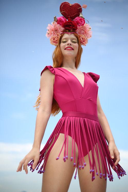 Saia Carnaval Pink