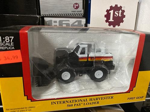 1/87 Intl front end loader