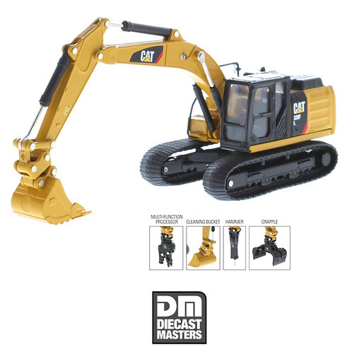 1/64 DM Excavator w/ attachments
