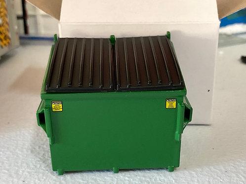 1/34 4yrd dumpster (WM green)