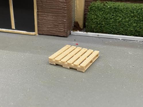 1/64 wood pallets 3D (5 pack)