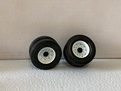 1/34 Mack Granite rear wheel set