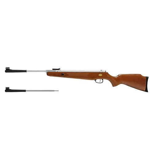 Rifle de aire nitro piston Beeman Silver Kodiak X2 calibre dual 4.5 / 5.5