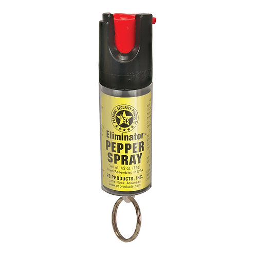Gas pimienta al 15% Eliminator llavero chico 1/2 oz