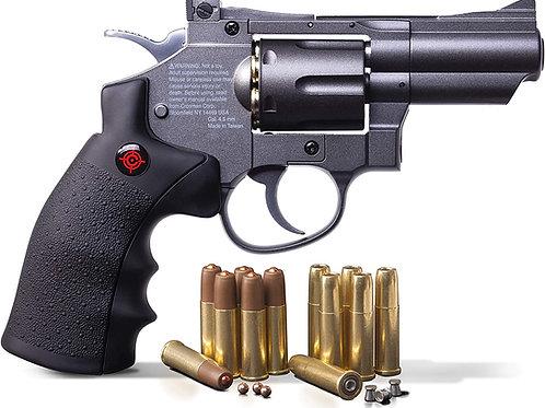 Revolver Metal SNR357Municion y Diabolo