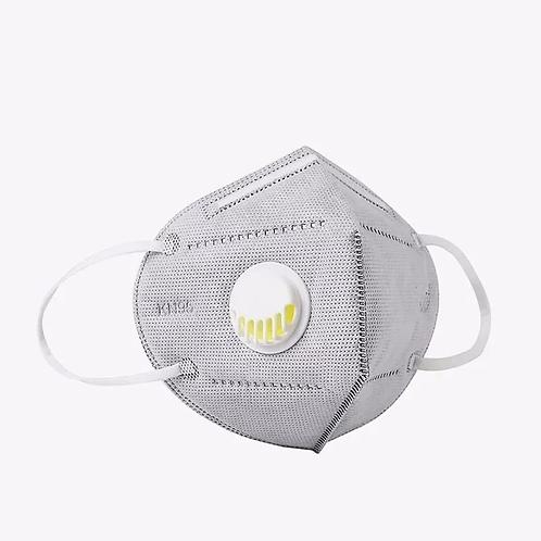 Mascara N95 c/valvula 5 Capas Filtro
