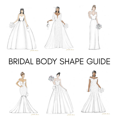 Bridal Body Shape and Wedding Dress Styles Guide