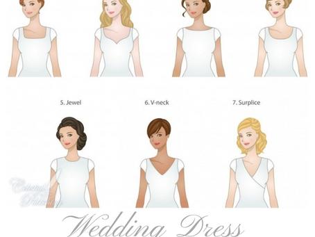 Wedding Dress Necklines.