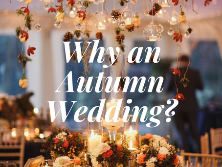 Autumn Weddings-Pro's and Con's
