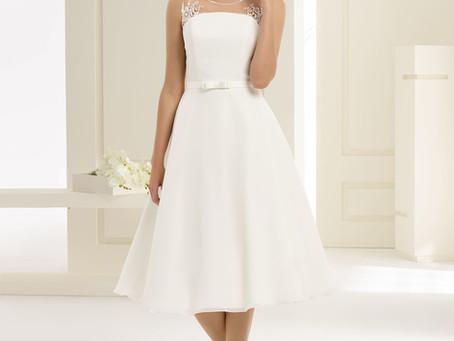Short/Tea length Wedding Dresses