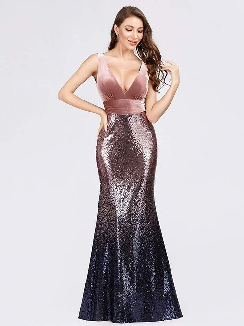 Bridesmaids Dress - EZ07767BH